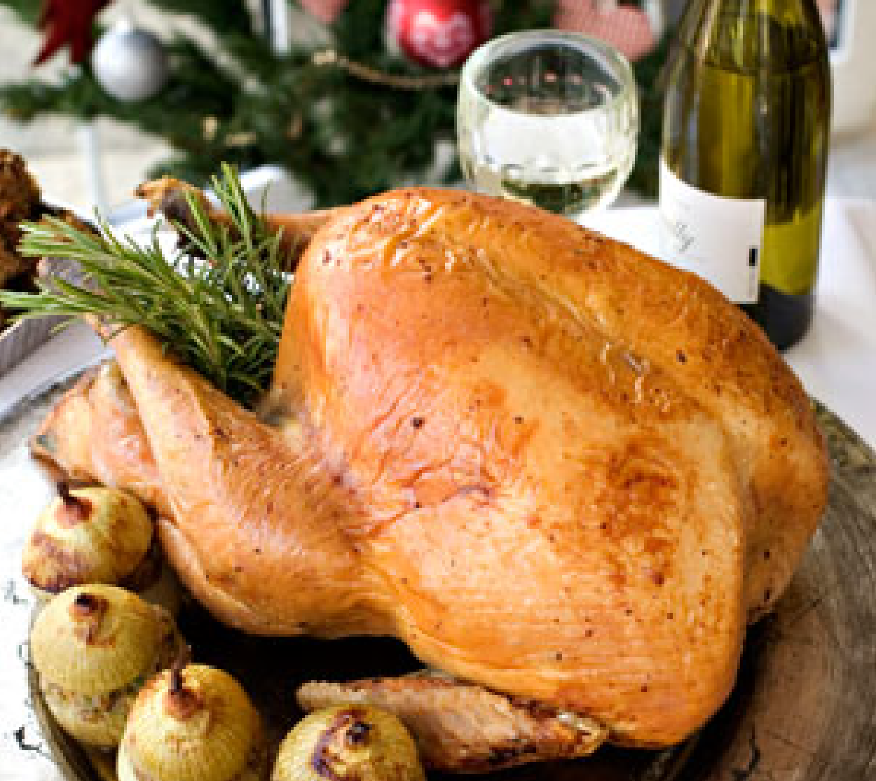 Order a turkey for christmas