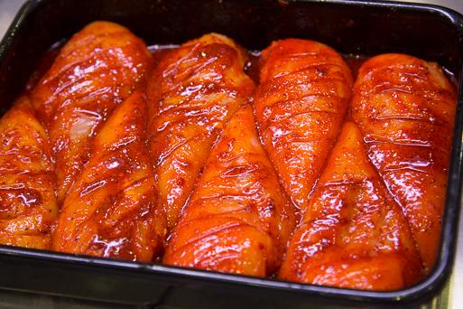 fire chicken breast